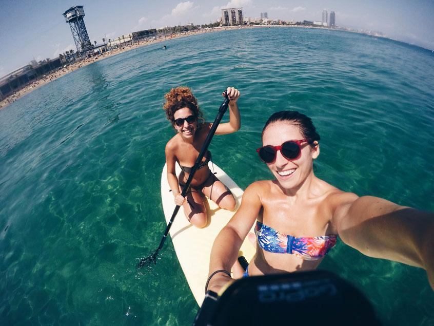 plage-barcelone-sant-sebastia-paddle