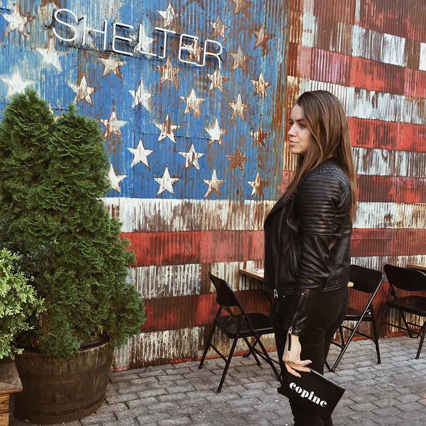 Williamsburg Bedford walls copines new york