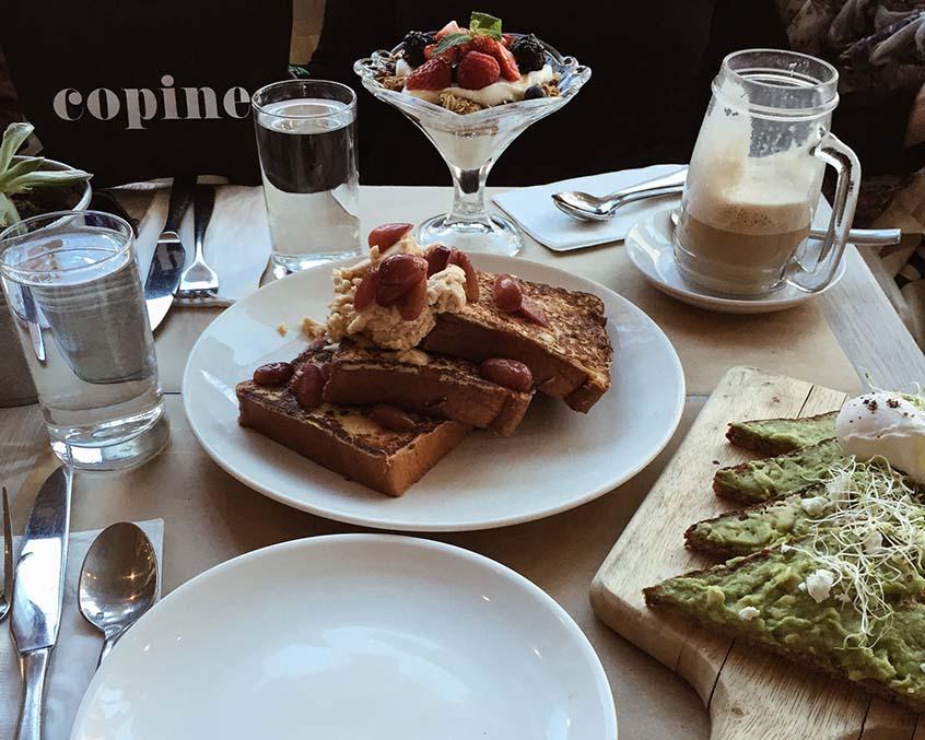 Deux jours à New York copines bread nolita