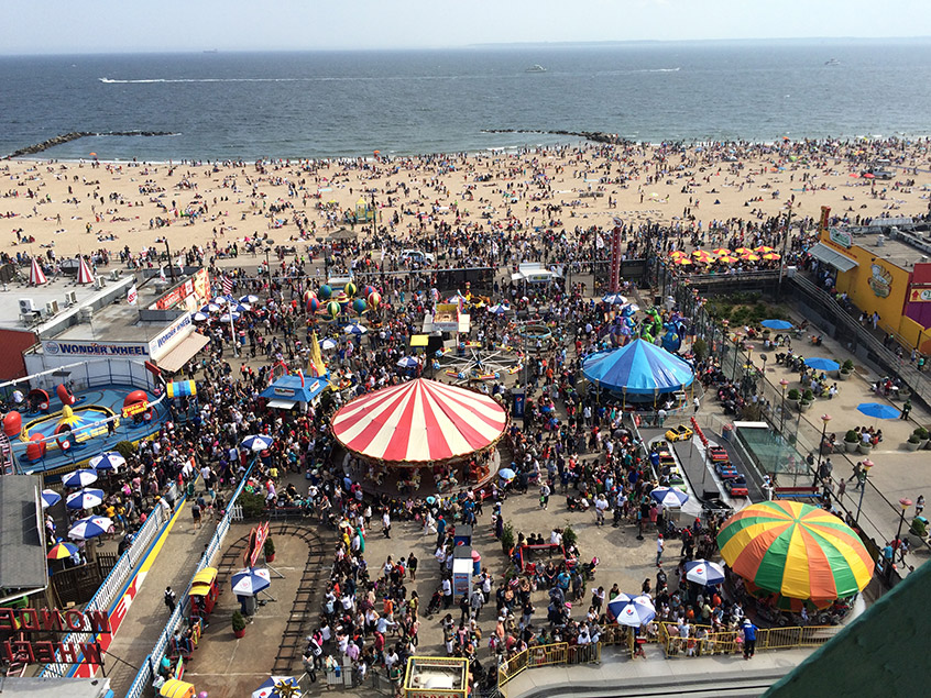 Coney Island - Photo credit Anna Buj