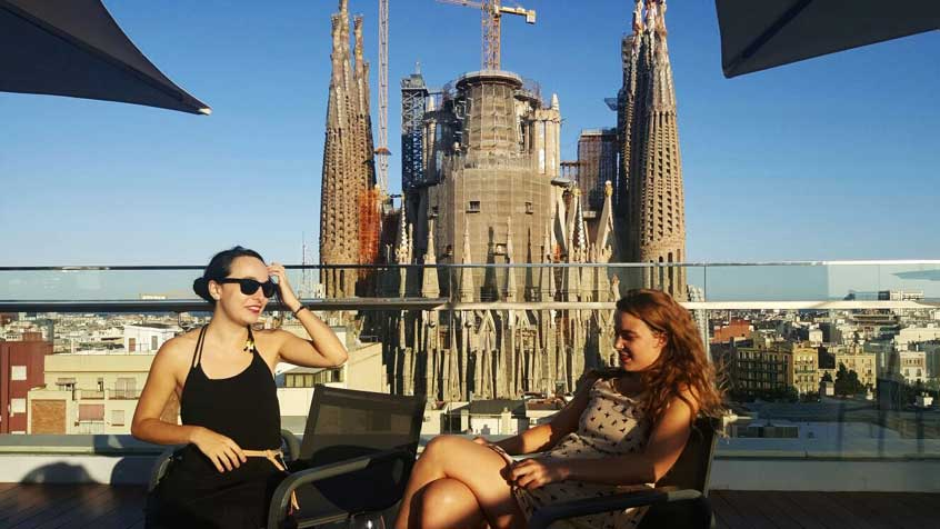 terasse-rooftop-barcelone-ayre-hotel