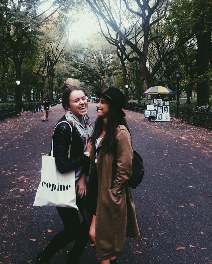 Deux jours à New York copines