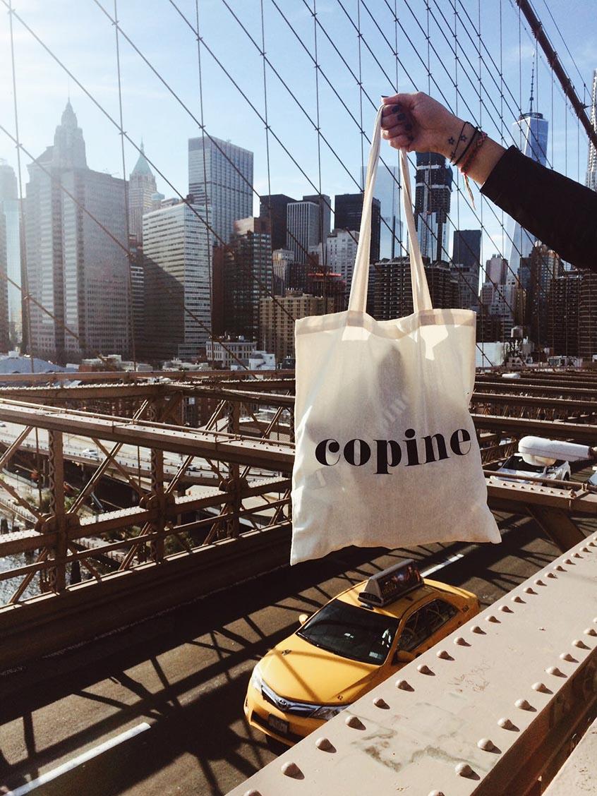 Brooklyn bridge copines new york