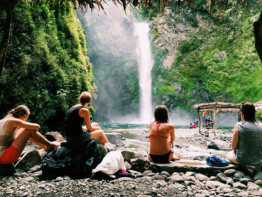 Philippines entre copines Batad Banaue