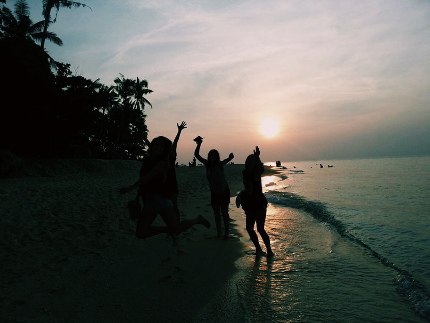 Boracay Puka Beach sunset