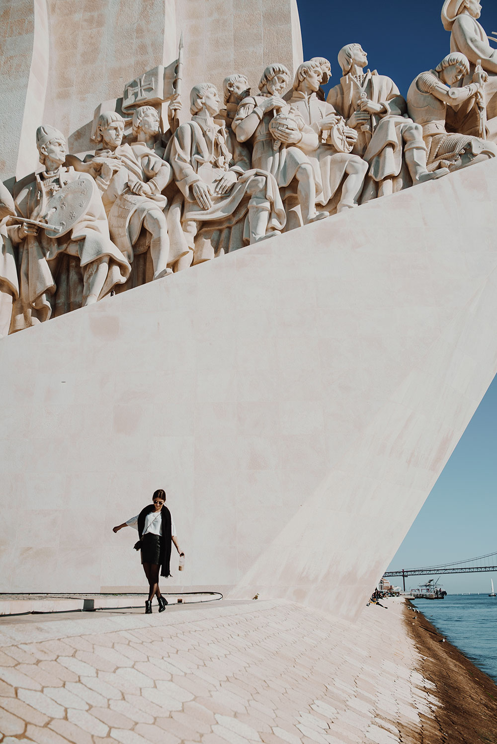 Lisbonne entre copines padrao dos descobrimentos