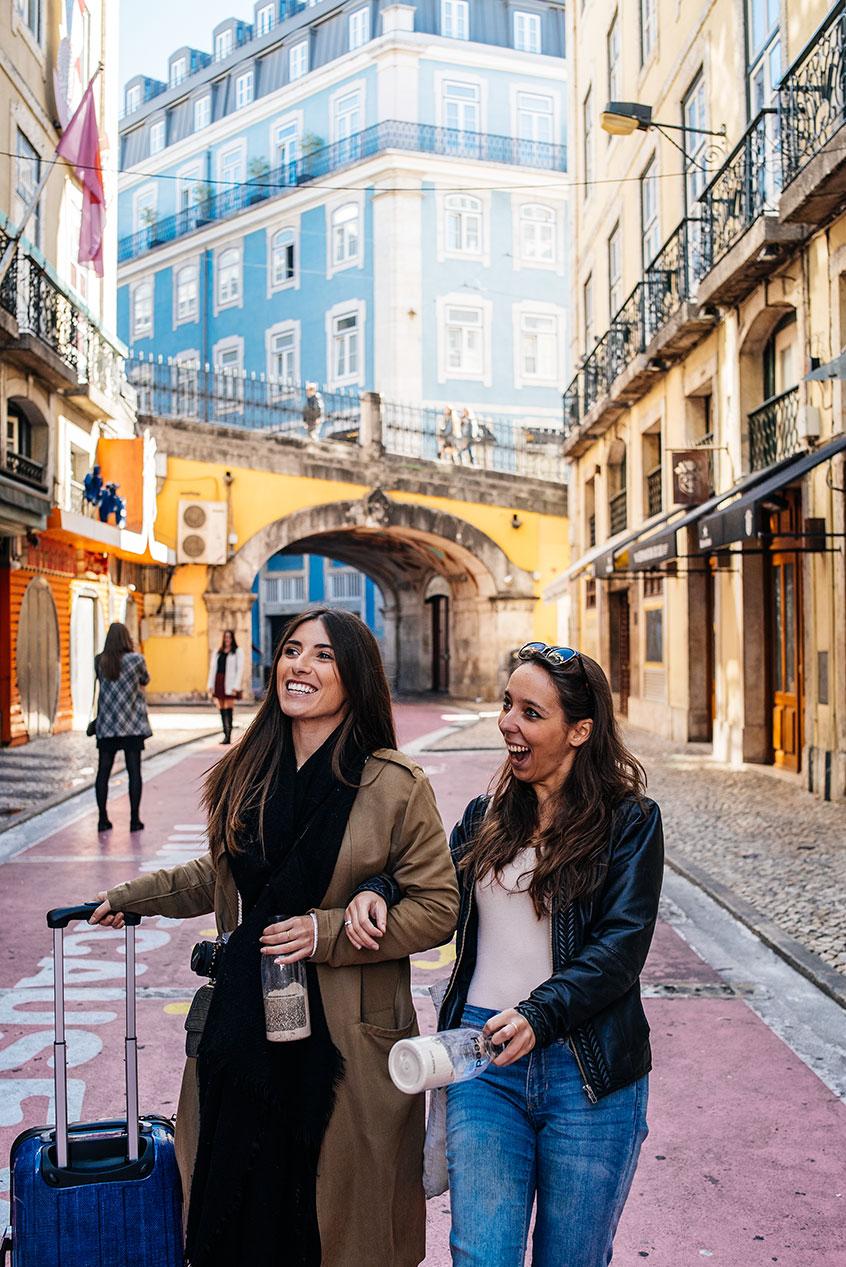 Lisbonne entre copines Pink Street
